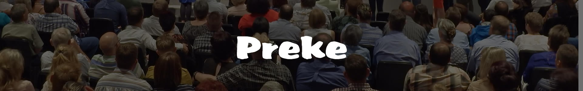 Preke banner
